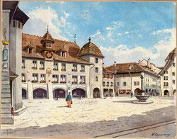Nr. 3618  Thun, Rathaus