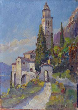Nr.1940; Kirche Morcote, Tessin
