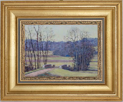 Nr. 3299 Landschaft im Vorfrühling