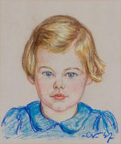 Nr.0501  Mädchenportrait