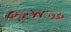 CHR. W.  (WOHLGEMUTH  CHRISTIAN)