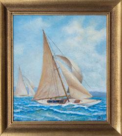 Nr. 1311 Zwei Segelboote