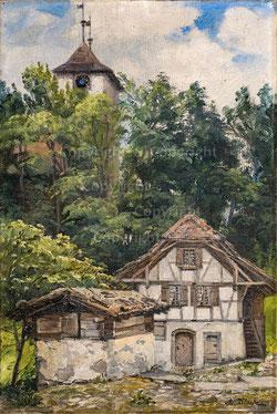 Nr. 2785 Bei der Kirche Ringgenberg