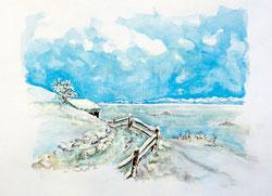 Nr.383 Winterlandschaft