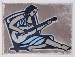 Nr. 3229 Gitarrenspielerin