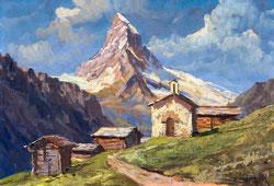 Nr.958 Matterhorn, Findelen