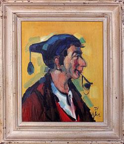 Nr. 1355 Bauer mit Zipfelmütze und Pfeife