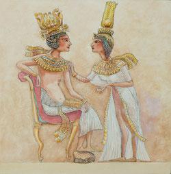 Nr.1038 Pharaonenpaar