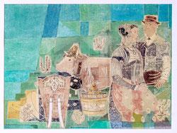 Nr.3257 Bauer+Bäuerin+Kuh Lisy