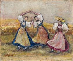 Nr.723 Tanzende Trachtenfrauen