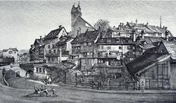 Nr. 1661 vor dem Haldentor