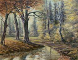 Herbstwald Anno 1960