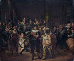 Nr. 1674 Die Nachtwache von 1642. Gemäldekopie