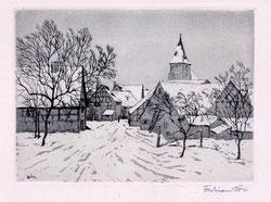 Nr. 206 Dorf im Winter