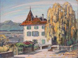 Nr. 1689/RB734, Partie vom Schloss Thun