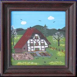 Nr. 2068   Riegelhaus / Frühlingsidylle