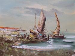 Nr.552  Boote am Strand