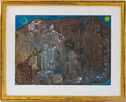 Nr.2640 Theater-Leben, Mythologie, Religion, Symbole