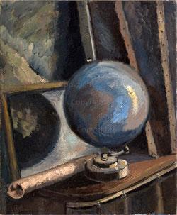 Nr. 2714 La Mappe de Monde (Globus) 1941