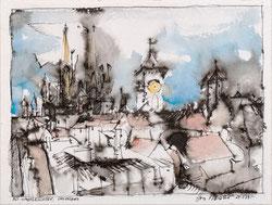 Nr.3221 Altstadt-Gesichter, Regensburg