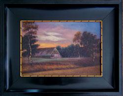 Nr. 1669 Scheune im Abendlicht