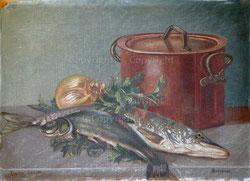 Nr.1964;  Fischstilleben