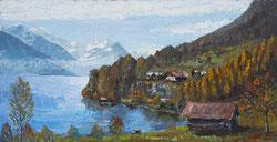 Nr.0310; Brienzersee- Landschaft