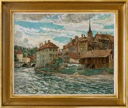 Bern, Nydeggstalden um 1930