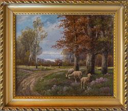 Nr. 2201  Hirte mit Schafen