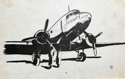 Nr. 3522 Swissair (DC-3)