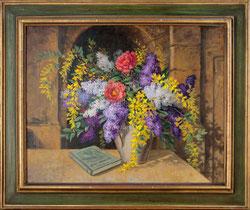 Nr. 1631 Frühlingsbouquet mit Buch