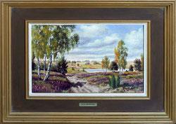 Nr.1943;  Heide-Landschaft