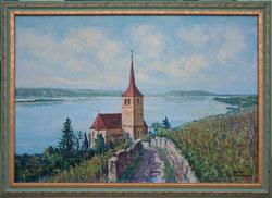 Nr. 1332 Kirche Ligerz, Bielersee