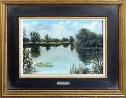 Nr.1942; Fluss/ Auen-Landschaft