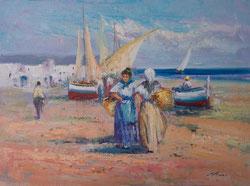 Nr.0794 Strandszene