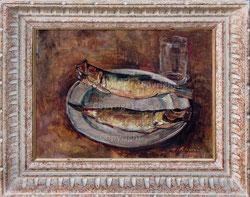 Nr. 1125  Fischstilleben