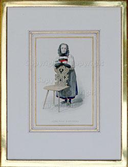 Nr. 2164  Jeune Fille d'Unterseen