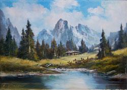 Nr. 1129 Berglandschaft