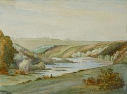 Nr.1022  Flusslandschaft