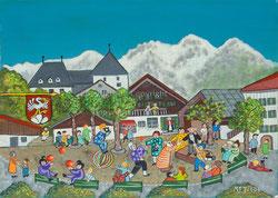 Nr. 1790 Kinderfest in Saanen
