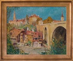 Bern, Matte und Nydeggbrücke Anno 1939