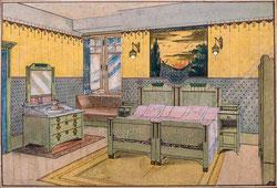 Nr.2738 Schlafzimmer mit Doppelbett