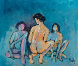 Nr. 2990 Drei Frauen im Gespräch