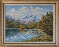 Nr.2600  Bergsee-Landschaft