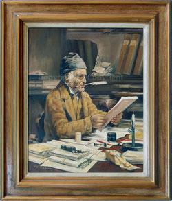 Der Gemeindeschreiber nach A.Anker