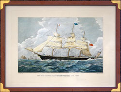 "Nr. 1255 The Iron Clipper Ship ""Cornwalls"" 1214 Tons"