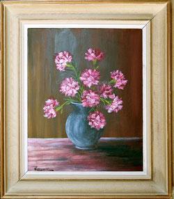 Nr. 1566 Nelken in Vase
