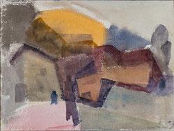 Nr. 2665 Landschaft mit zwei Figuren
