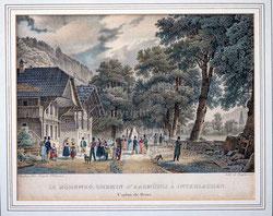 Nr. 3431 Interlaken Höheweg ca.1835