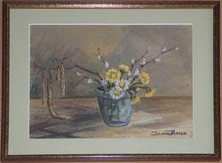 Nr.0267  Frühlings Bouquet im Glas